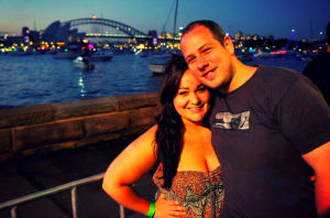 Our Amazing New Years Eve in Sydney Harbourlights, at the Botanical Gardens