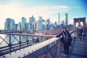 A January Walk over Brooklyn Bridge