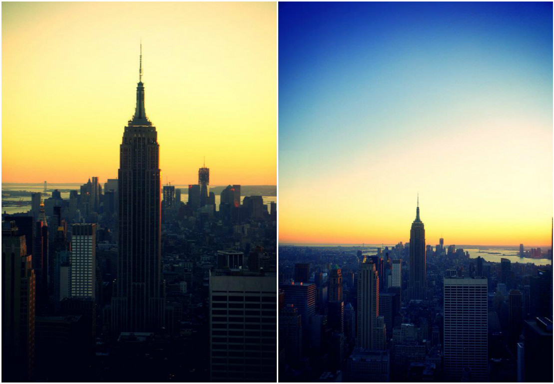 empire state building sunset - photo #34