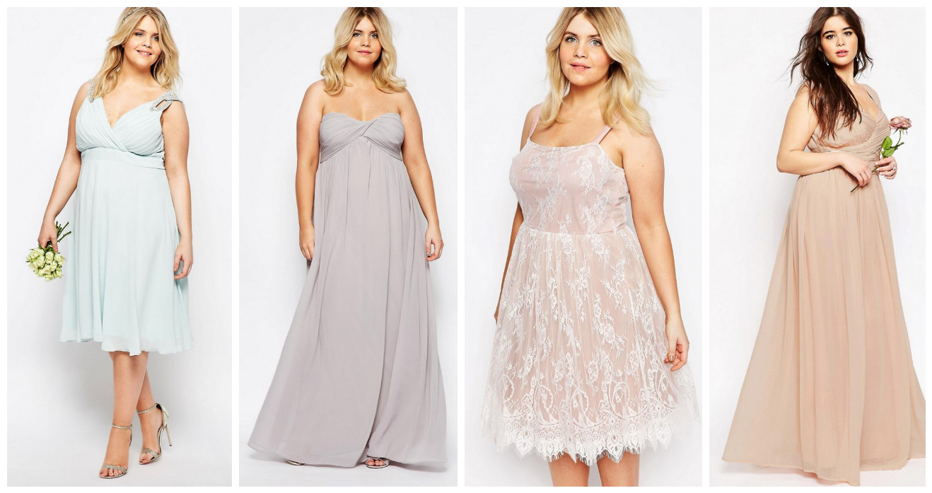 Plus Size Bridesmaid Dress Asos Curve