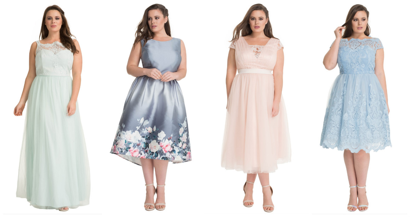 Plus Size Bridesmaid Dress Navabi Chi Curve